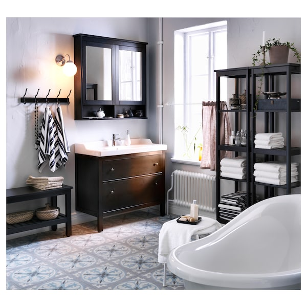 Hemnes Mirror Cabinet With 2 Doors Black Brown Stain 40 1 2x6 1 4x38 5 8 Ikea,Crooked Forest Poland Images