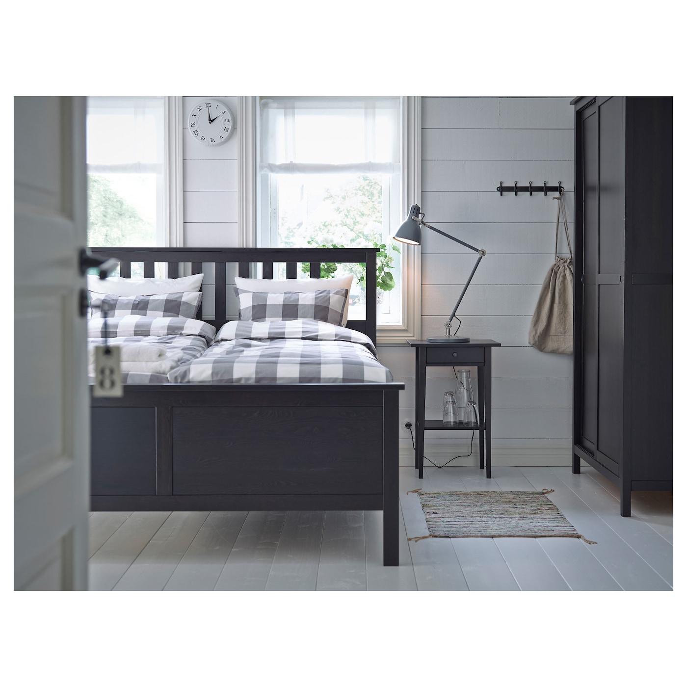 Hemnes Nightstand Black Brown 18 1 8x13 3 4 Ikea