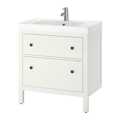 High Quality HEMNES / ODENSVIK Sink Cabinet With 2 Drawers