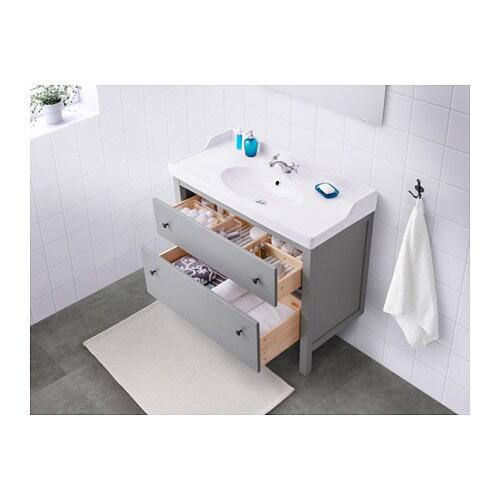 Hemnes Rattviken Sink Cabinet With 2 Drawers White Ikea