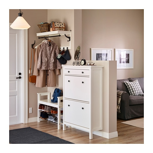 Superbe HEMNES Shoe Cabinet With 2 Compartments   White   IKEA