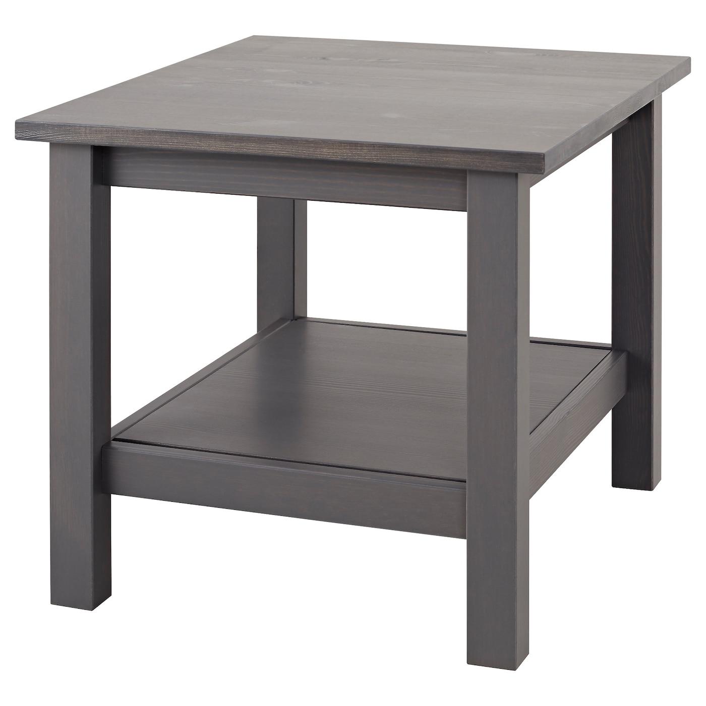 Hemnes Side Table Dark Gray