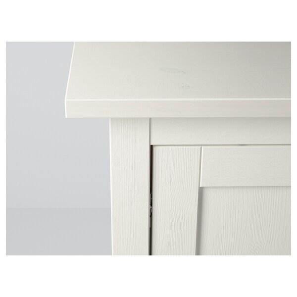 "HEMNES Sideboard, white stain, 61 3/4x34 5/8 """