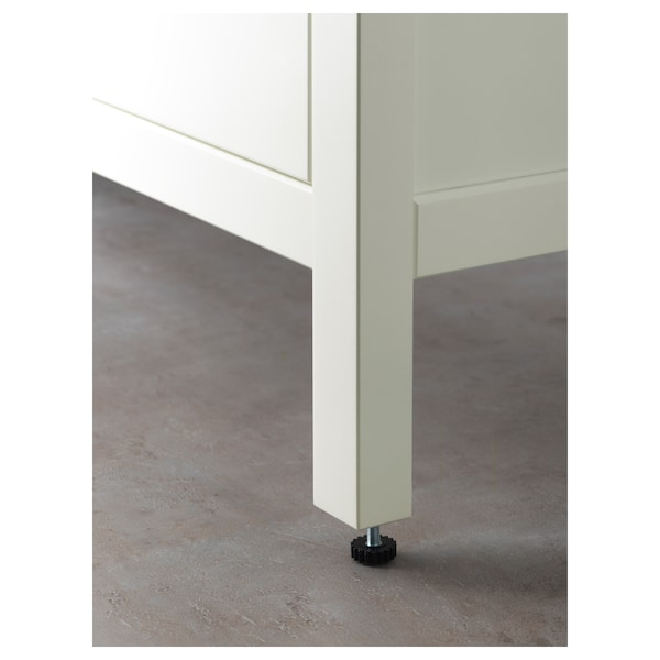 """HEMNES Sink cabinet with 2 drawers, white, 39 3/8x18 1/2x32 5/8 """""""