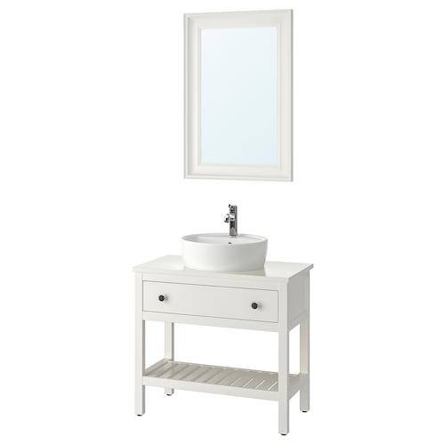 IKEA HEMNES / TÖRNVIKEN Bathroom furniture, set of 4