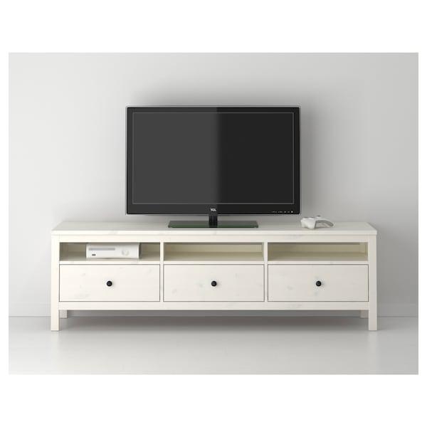 Hemnes Ikea Tv Kast.Hemnes Tv Unit White Stain 72x18 1 2x22 1 2 Ikea