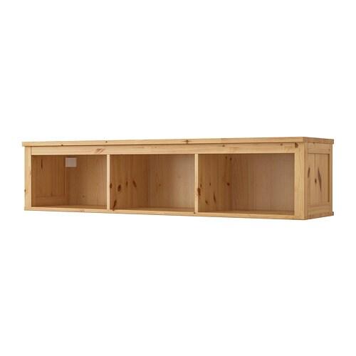 Hemnes Wall Bridging Shelf Light Brown Ikea