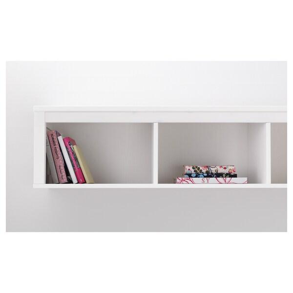"HEMNES wall/bridging shelf white stain 58 1/4 "" 14 5/8 "" 13 3/8 "" 99 lb"