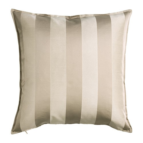 HENRIKA Cushion cover , light beige Length: 20
