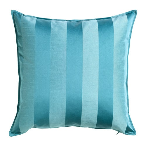 HENRIKA Cushion cover , turquoise Length: 20