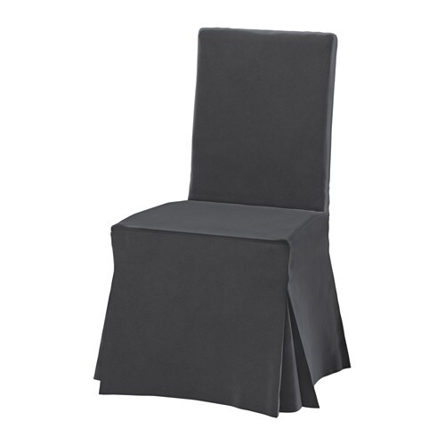 HENRIKSDAL Chair cover long IKEA : henriksdal chair cover long gray0518907PE641290S4 from www.ikea.com size 500 x 500 jpeg 14kB