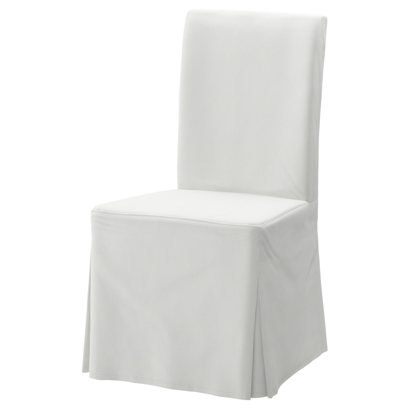 Marvelous Chair Cover Long Henriksdal Blekinge White Inzonedesignstudio Interior Chair Design Inzonedesignstudiocom