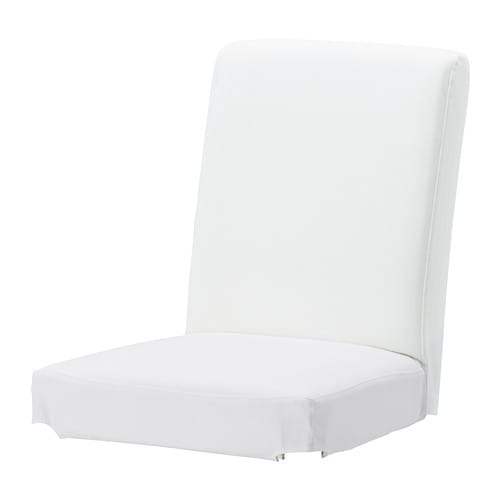 HENRIKSDAL Chair cover IKEA The washable cover to HENRIKSDAL chair frame is easy to put on and take off.