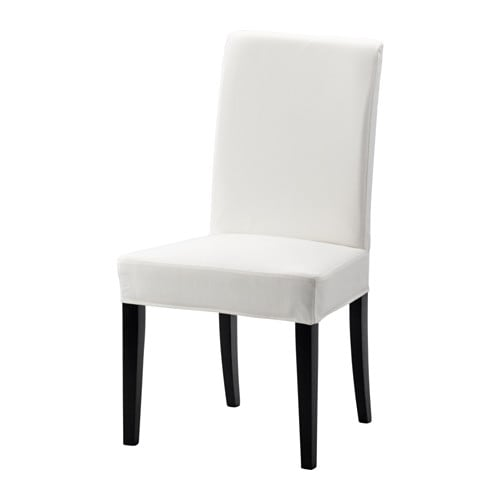 HENRIKSDAL Chair, brown-black, Gräsbo white Gräsbo white brown-black -
