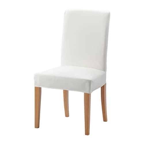 HENRIKSDAL Chair, oak, Gräsbo white Gräsbo white oak -