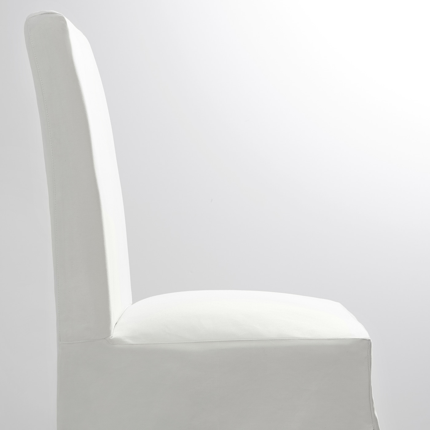 Picture of: Henriksdal Chair With Long Cover Blekinge White Width 21 1 4 Order Here Ikea