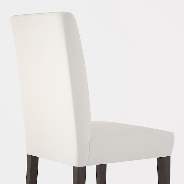 """HENRIKSDAL chair dark brown/Gräsbo white 243 lb 21 1/4 """" 22 7/8 """" 38 1/4 """" 21 1/4 """" 16 1/2 """" 18 1/2 """""""