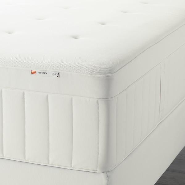 HESSTUN Eurotop mattress, firm/white, Queen