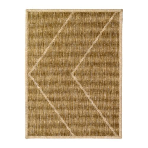 HESSUM Door mat IKEA Easy to clean; shake, vacuum or rinse. Latex backing keeps the mat firmly in place.