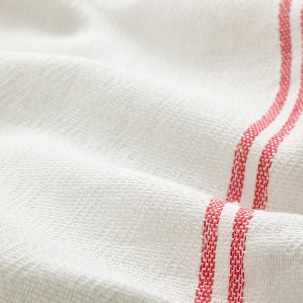 "HILDEGUN Dish towel, red, 18x24 """
