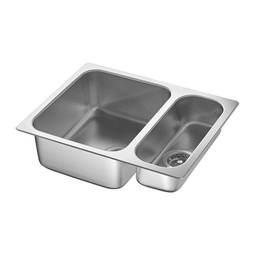 2 Bowl Sink By Hillesj 214 N 1 1 2 Bowl Dual Mount Sink Ikea ...