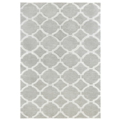 "HILLESTED Rug, low pile, gray/white, 7 ' 10 ""x9 ' 10 """