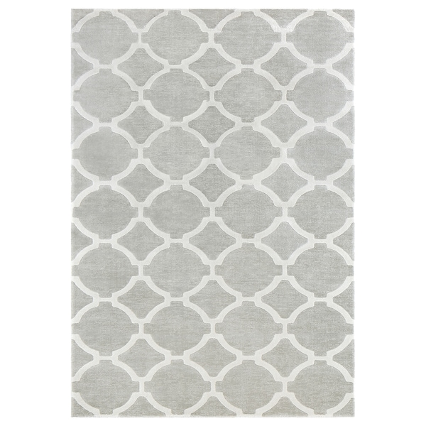 Hillested Rug Low Pile Gray White 7