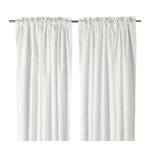 Hillmari curtains 1 pair ikea - Tende bianche ikea ...