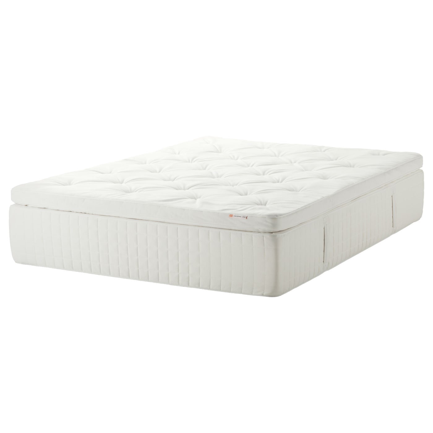 Hjellestad Pillowtop Mattress Medium Firm White King Ikea