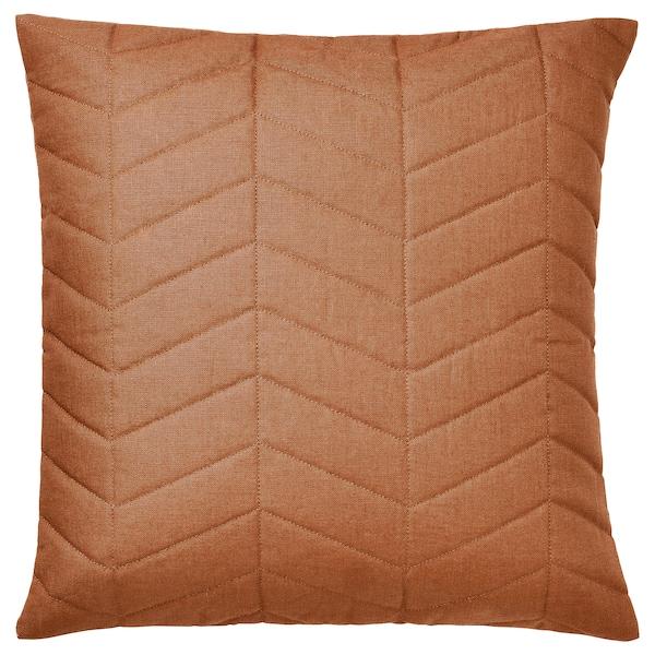 "HÖSTKVÄLL Cushion cover, orange, 20x20 """
