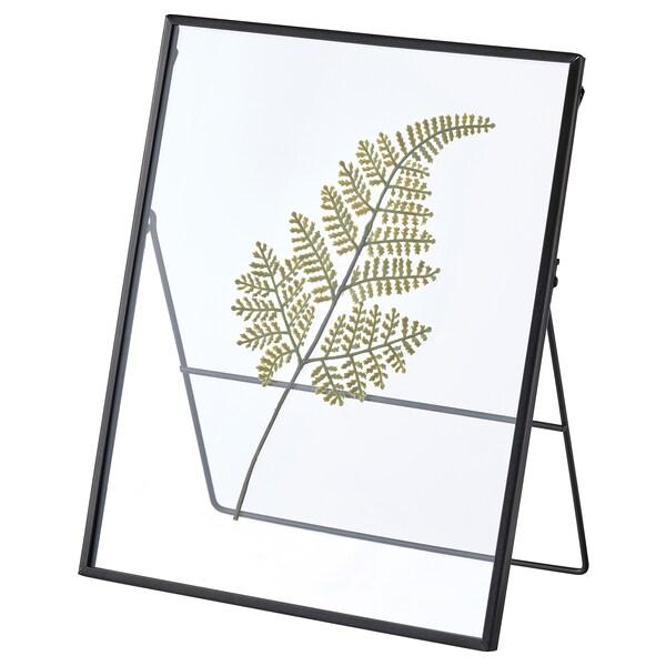 """HÖSTKVÄLL Frame, dark gray/fern green, 8 ¼x10 ¼ """""""