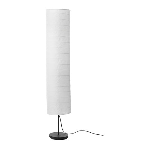 Holmo Floor Lamp With Led Bulb White