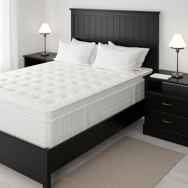 """HOLMSBU pillowtop mattress medium firm/white 79 1/2 """" 59 7/8 """" 17 3/4 """""""