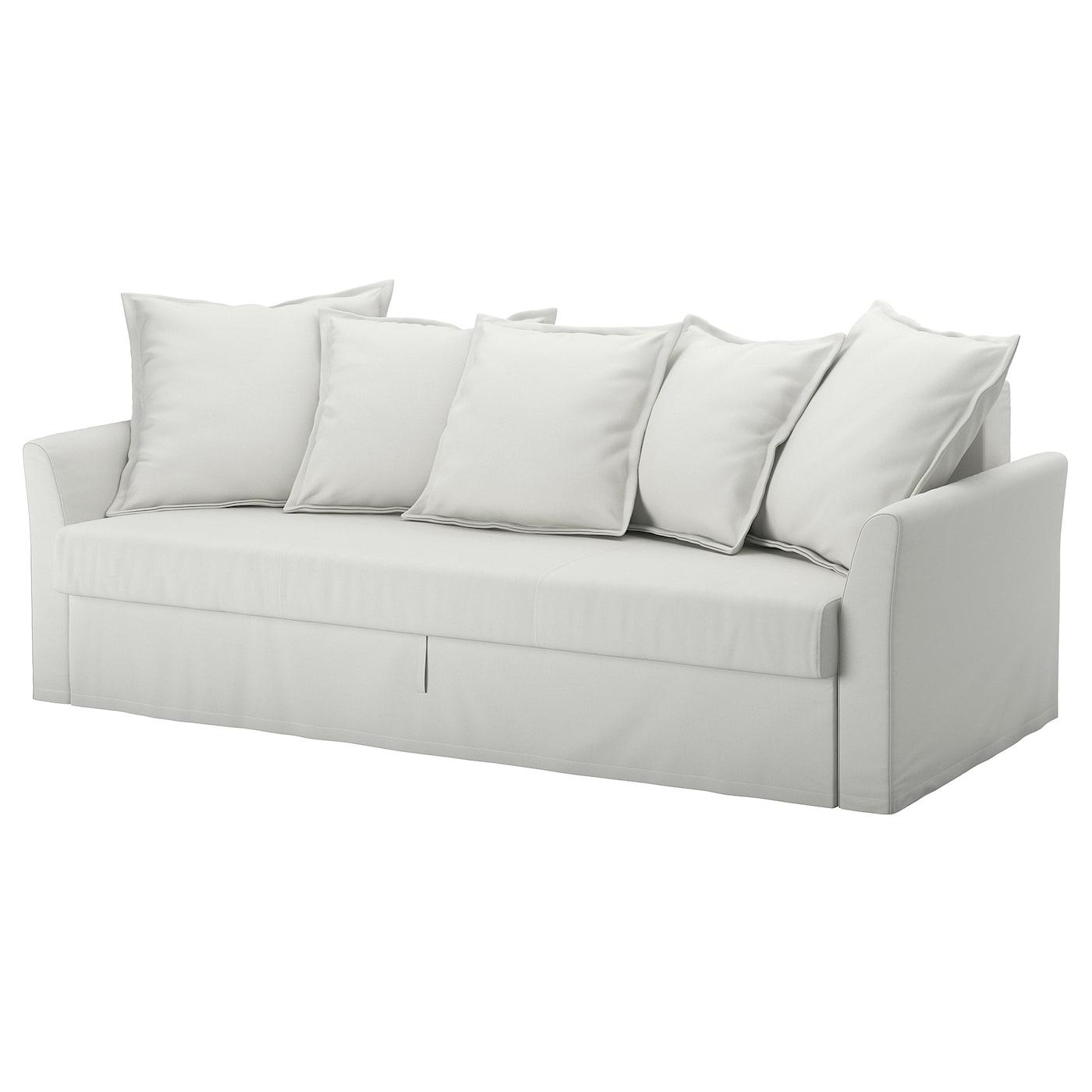 Picture of: Holmsund Sleeper Sofa Orrsta Light White Gray Ikea