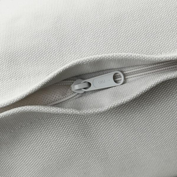 HOLMSUND Sleeper sofa, Orrsta light white-gray