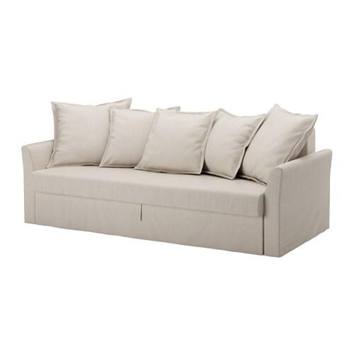holmsund sofa bed slipcover nordvalla beige ikea