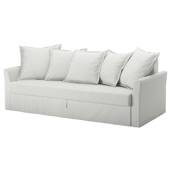 Amazing Sleeper Sofa Holmsund Orrsta Light White Gray Onthecornerstone Fun Painted Chair Ideas Images Onthecornerstoneorg