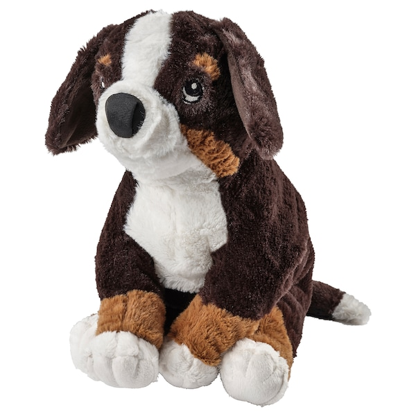 Soft Toy Hoppig Dog Bernese Mountain Dog White