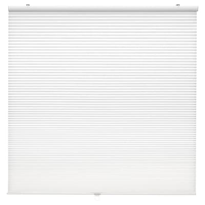 HOPPVALS Cellular blind, white, 34x64 ""