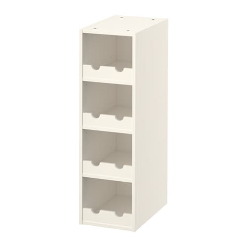 Ikea White Kitchen Wine Rack