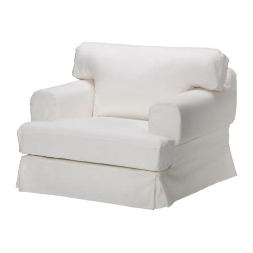 HOVÅS Chair cover IKEA Easy to keep clean with a removable,machine washable cover.