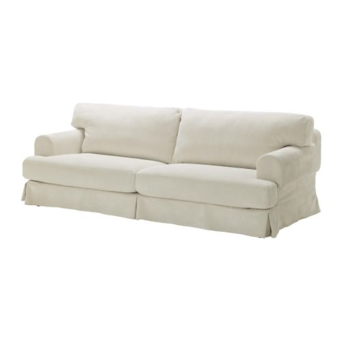 HOVÅS Sofa cover IKEA The cover is easy to keep clean as it is