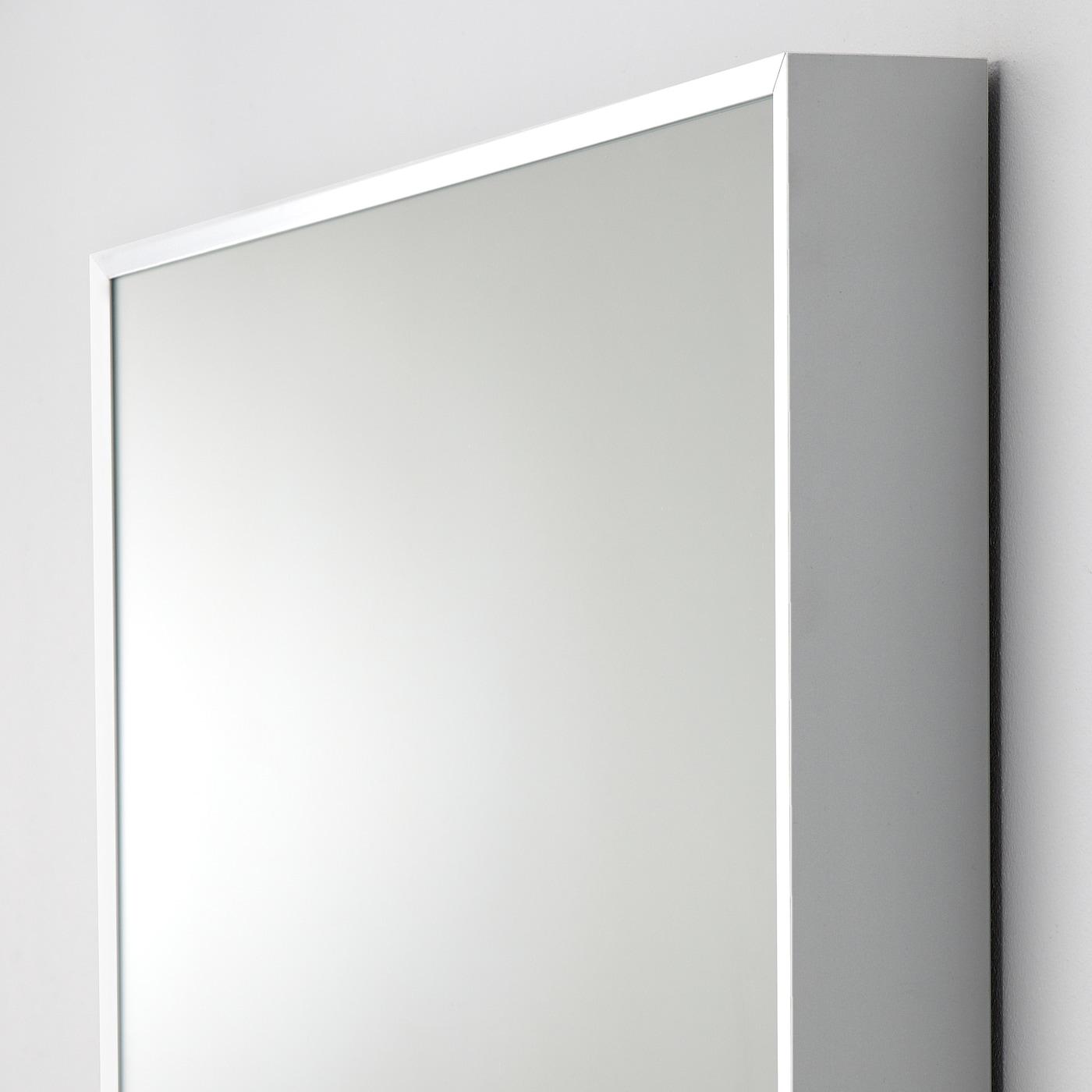 Hovet Mirror Aluminum 30 3 4x77 1 8 Ikea