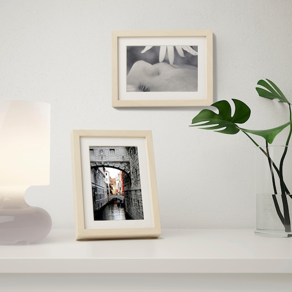 """HOVSTA Frame, birch effect, 5x7 """""""