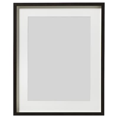 "HOVSTA Frame, dark brown, 16 ¼x20 """