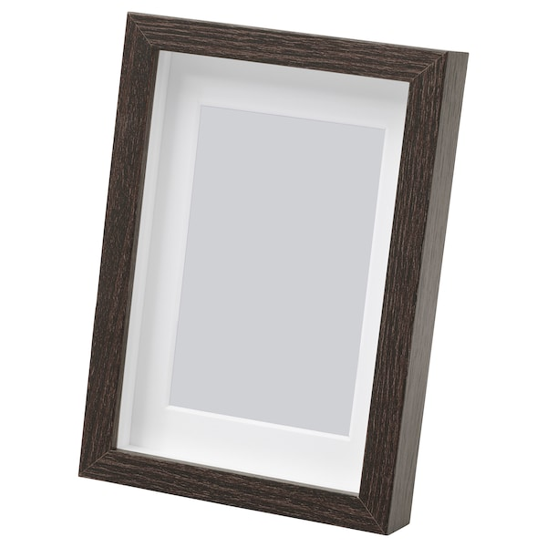 "HOVSTA Frame, dark brown, 4x6 """