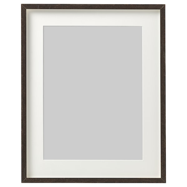 "HOVSTA Frame, dark brown, 12 ¼x16 ¼ """