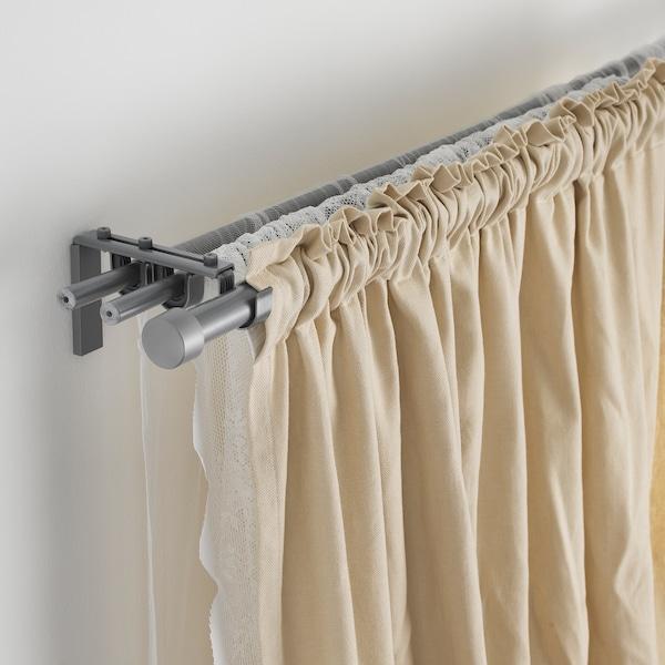 """HUGAD Curtain rod, silver color, 47-83 """""""