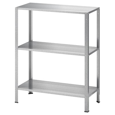 HYLLIS Shelf unit, indoor/outdoor, 23 5/8x10 5/8x29 1/8 ""