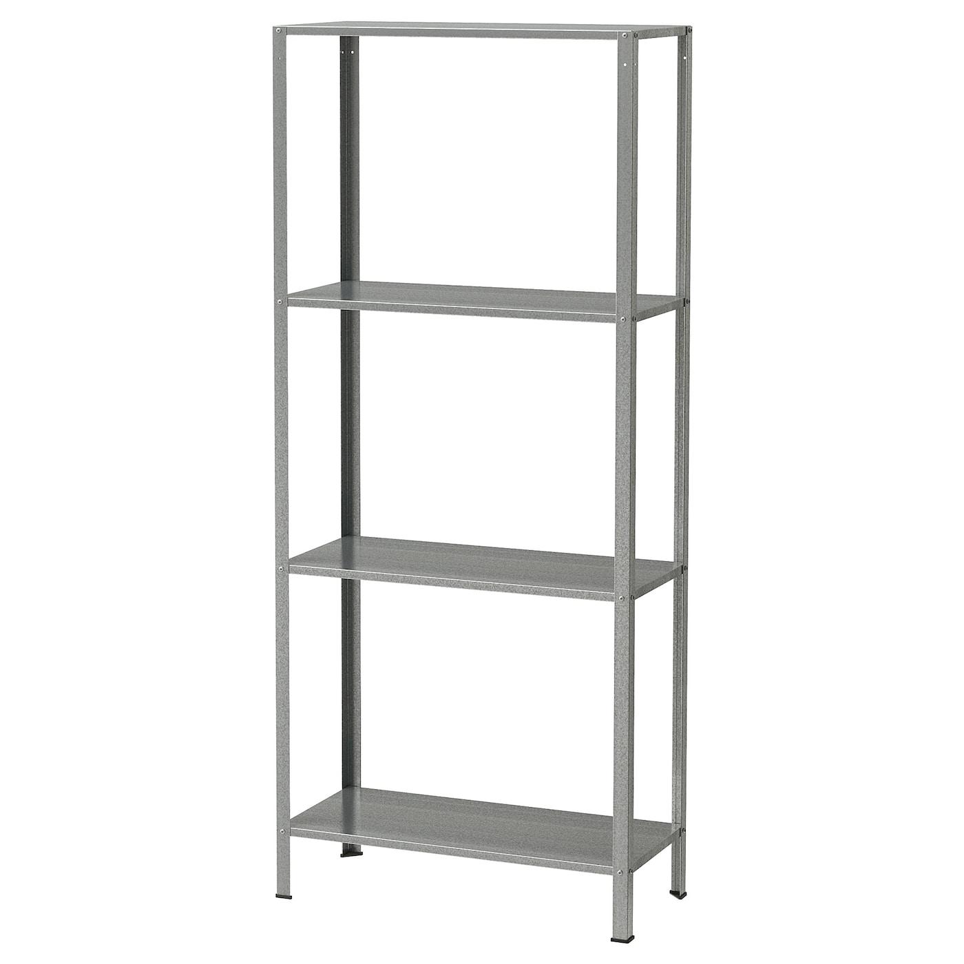 Shelf Unit Hyllis Indoor Outdoor Galvanized